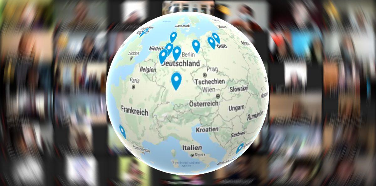 Erfolgreiche virtuelle internationale Jugendbegegnung